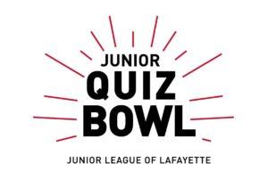 logo for Junior League of Lafayette's Junior Quiz Bowl program
